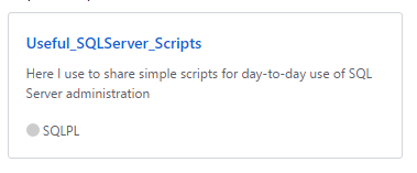 GITHUB – Alguns scripts novos para compartilhar